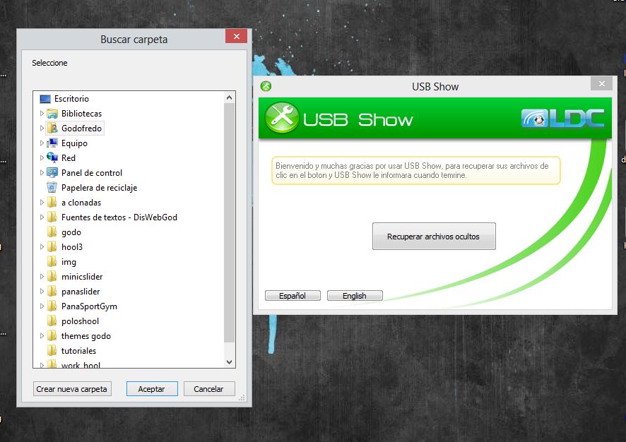 Mostrar USB Oculto