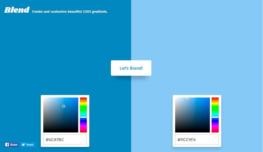 Blend excelente pagina para gradients