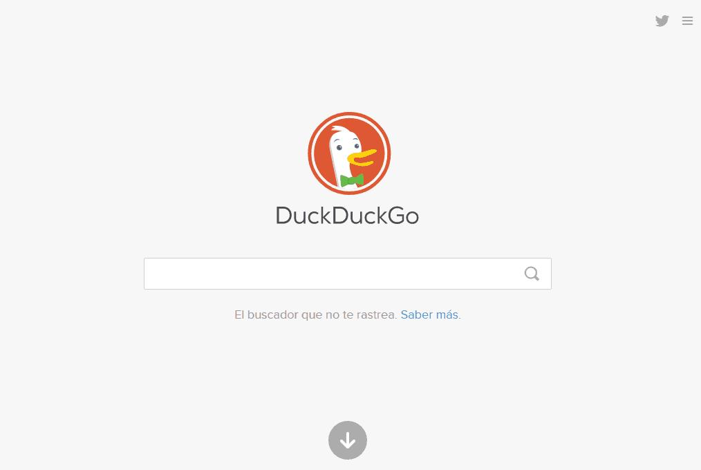 DuckDuckGo es un buscador que protege tu privacidad