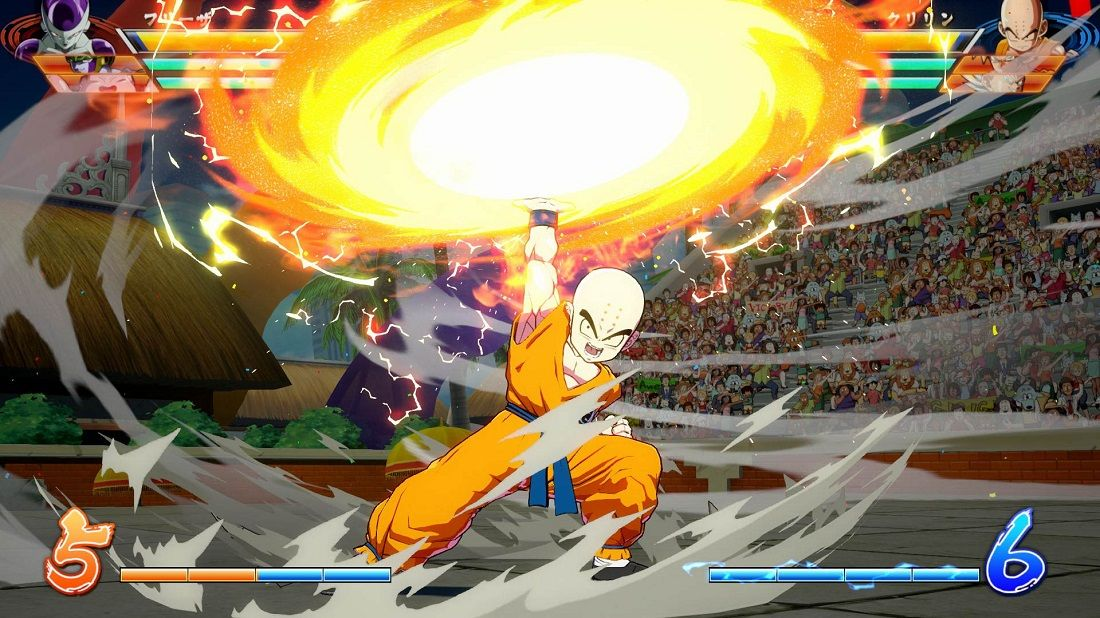 Dragon Ball FighterZ krilin