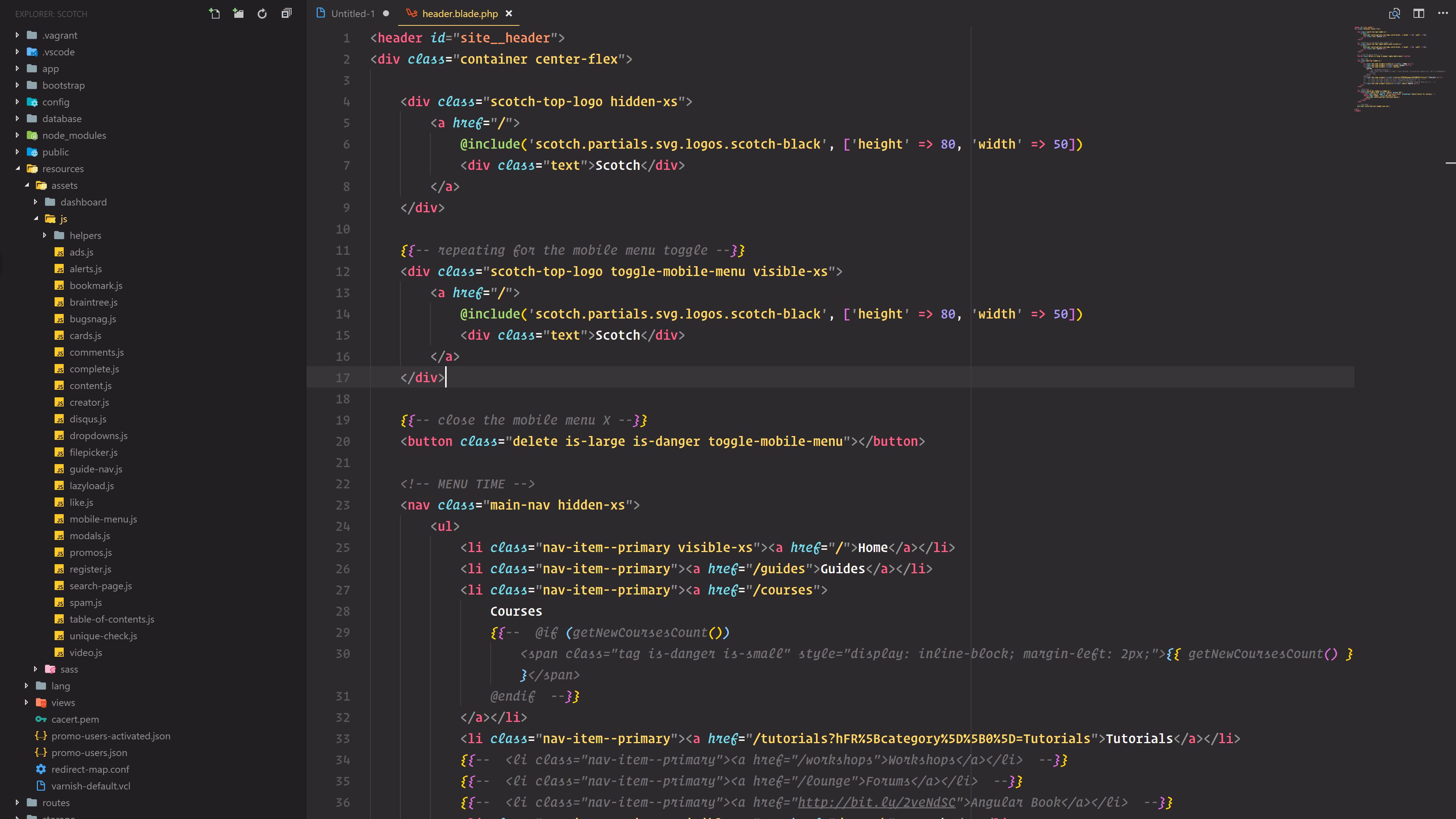 Monokai Pro theme para visual studio code