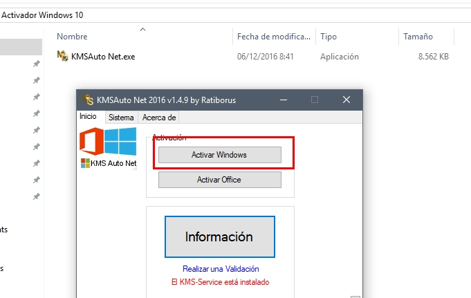 Activador Windows10