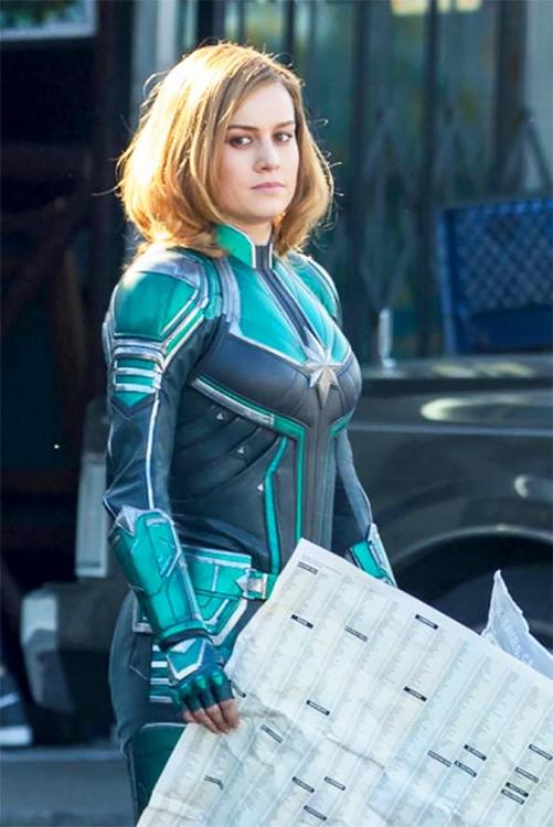 Captain Marvel se filtra imagenes de Brie Larson