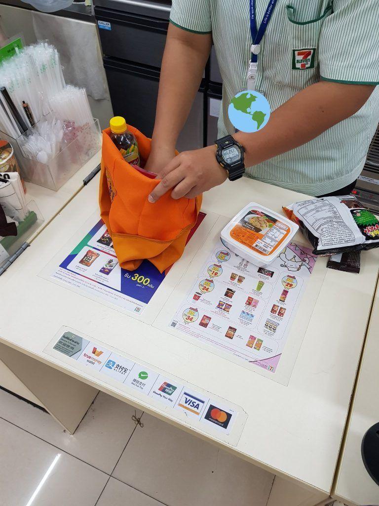 Tailandia prohibido el uso de plástico - mas rapido una bolsa
