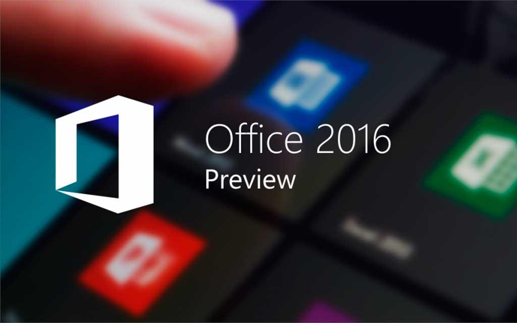 Descargar Microsoft Office 2016 Preview