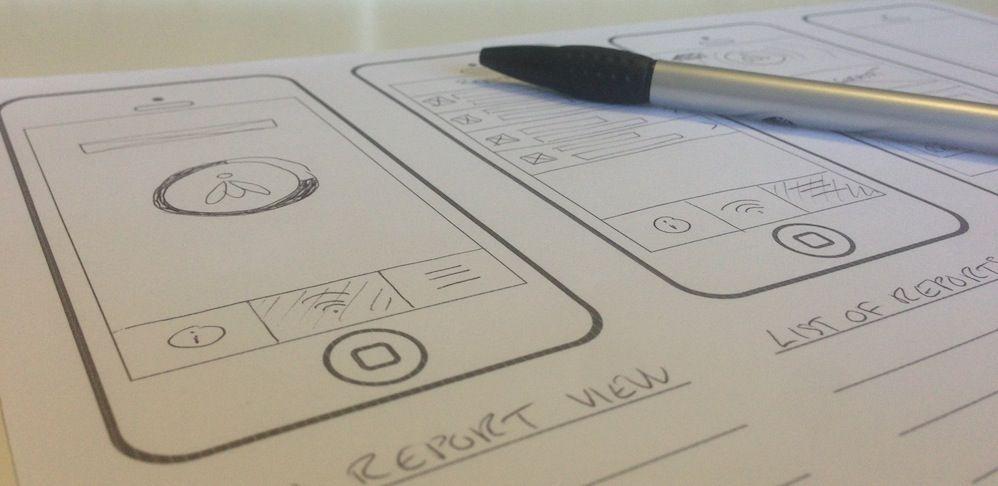Plantilla para crear wireframes de páginas web mobile y tablet
