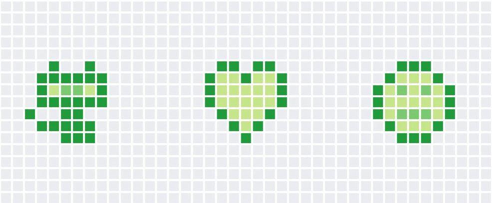 👾 Realiza dibujos en el gráfico de contribución de GitHub