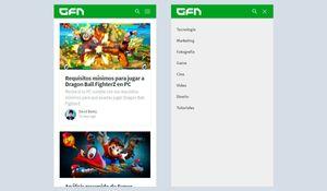 Crear un menu responsive adaptable para dispositivos móviles y web