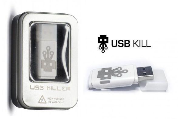 USB Kill el pendrive asesino con una potencia para 'freír' pc, laptops, smartphones