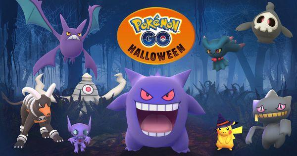 Pikachu con sombrero de bruja y los Pokémon fantasmas llegan ha Halloween en Pokémon GO junto con otras sorpresas