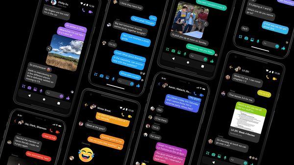 Messenger es la primera aplicación de Facebook en obtener el modo oscuro